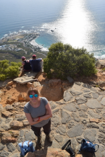 On top of the Lions Head